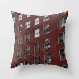Blazing Window Throw Pillow