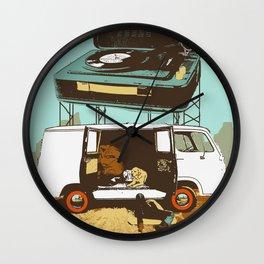 BROKEDOWN Wall Clock