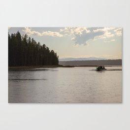 Sun Shower Canvas Print