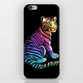 Rainbow Tiger iPhone Skin