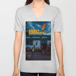 Best Burger Unisex V-Neck