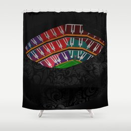 The Jahra Shower Curtain