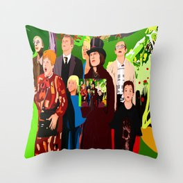 Charly the Chocolate Throw Pillow