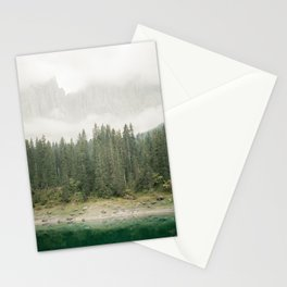 Lago di Carezza | Travel photography print Dolomites Italy Stationery Cards