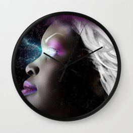 Portrait of Storm From the X Men Wall Clock