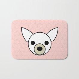 Dog Chihuahua pink Bath Mat