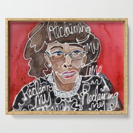 Maxine Waters Serving Tray