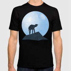 Howl at at the Moon Mens Fitted Tee Black MEDIUM