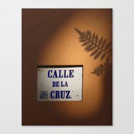 De la Cruz, Old San Juan Light Canvas Print