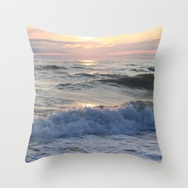 troubled waters sunshine Throw Pillow