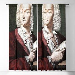 Antonio Vivaldi (1678-1741) by Morellon de la Cave in 1725 Blackout Curtain