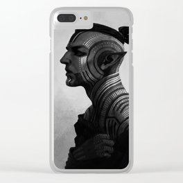 Tatoos Clear iPhone Case