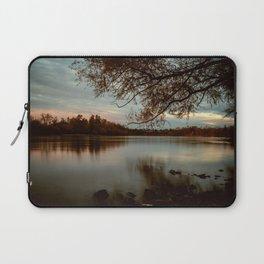 Subdued Sunset on the Sacramento River Laptop Sleeve