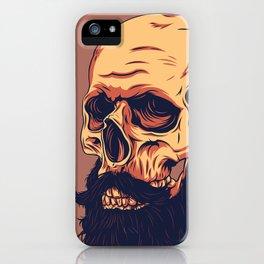 Mr. Skull iPhone Case