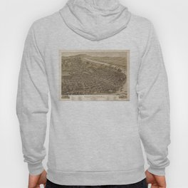 Vintage Pictorial Map of Chattanooga (1886) Hoody