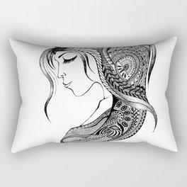Women and girls 0004 Rectangular Pillow