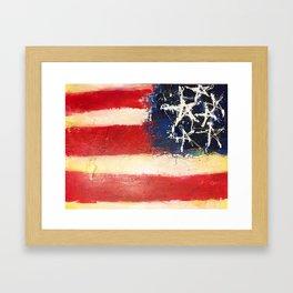 Made in America Framed Art Print