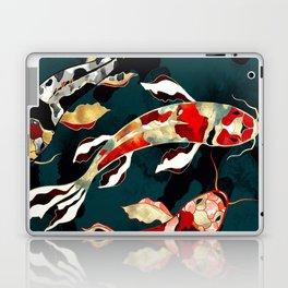 Metallic Koi Laptop & iPad Skin