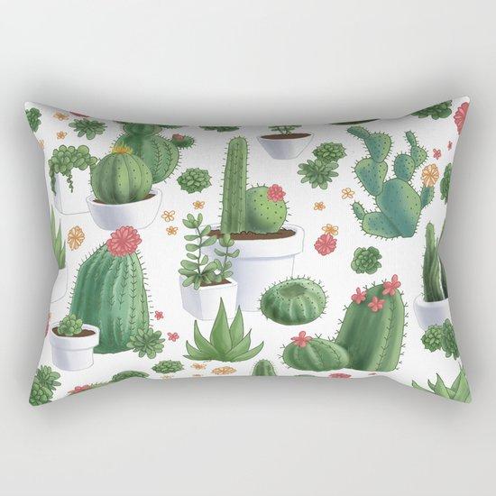 Succulent Cacti by screamerillustration