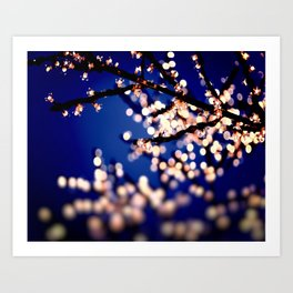Fairy Lights Art Print