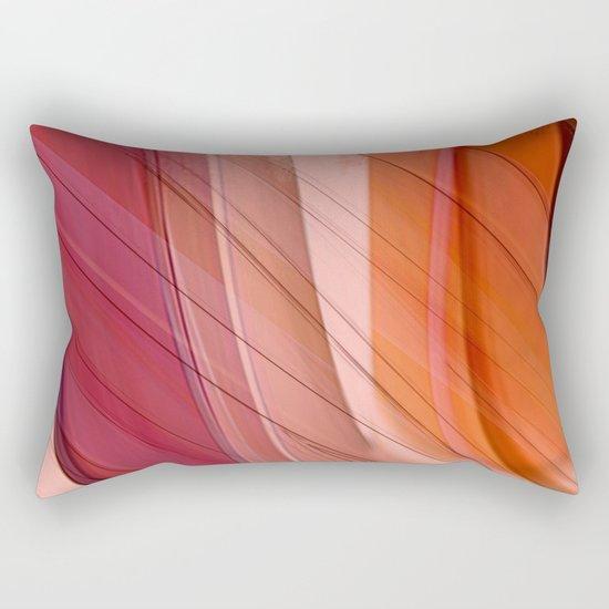 Colorgradient purple and orange Rectangular Pillow