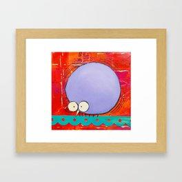 Nervous Tic Framed Art Print