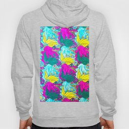 The Alligator Grins / The Peacock Weeps Hoody