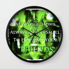 Luck of the Irish Wall Clock