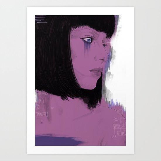 Striking Distance Art Print