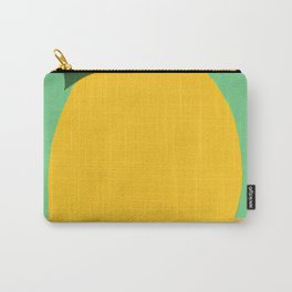 Lemon With Two Leaves Carry-All Pouch