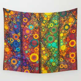 Bubble Mosaic Wall Tapestry