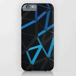 3D Futuristic GEO Lines VI iPhone Case