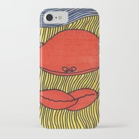 crab iPhone & iPod Cases featuring Crab by mojekris