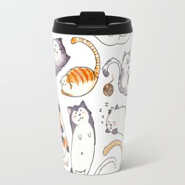 Everybody wants to be a cat Travel Mug