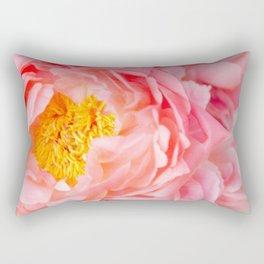 peonies 05 Rectangular Pillow