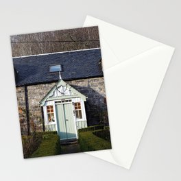 The House - Scotland Stationery Cards