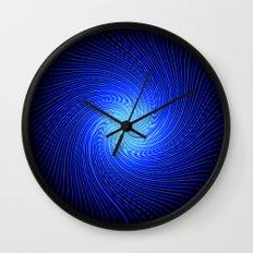 Blue Spirit Circle 2 Wall Clock