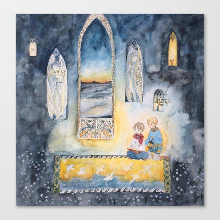 Night Watchers Canvas Print
