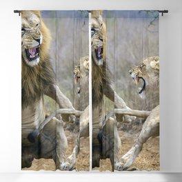 Spectacular Wonderful Masculine Feminine Beasts Teasing In Savannah Zoom UHD Blackout Curtain