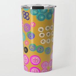 Sorting the Buttons Travel Mug
