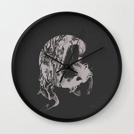 Deep Dream Wall Clock