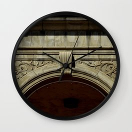 Portal to the Spa Wall Clock