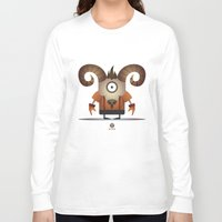 aries Long Sleeve T-shirts featuring ARIES by Angelo Cerantola