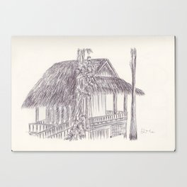 BALLEPN TRAVEL IN LAOS 7 Canvas Print