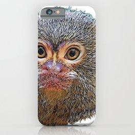 Pygmy Marmoset Face Cebuella Recommended Infamous Behavior Boi iPhone Case