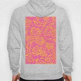 Succulent Stamp - Pink & Orange #315 Hoody