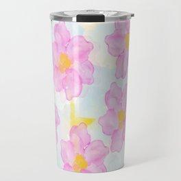 Dazed Flower Travel Mug