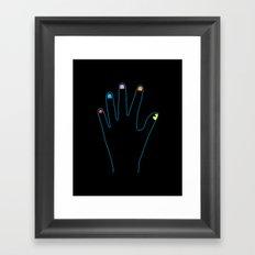 Spirit Fingers Framed Art Print