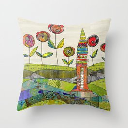 Happy Day. Throw Pillow