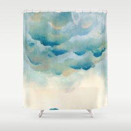 Cloudy night Shower Curtain